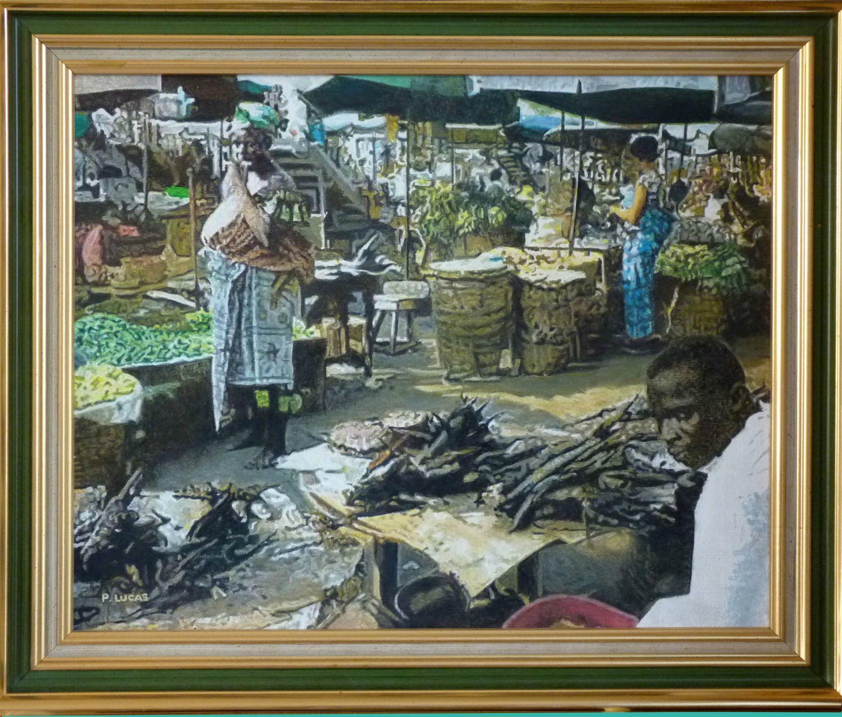 Le marché africain de P. Lucas