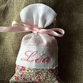 Motif fleuri liberty eloïse rose // www.pochoncreation.com