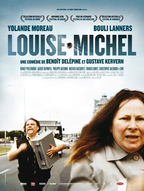 Affiche Louise Michel 2008 Gustave Kervern