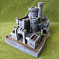 Black rock castle