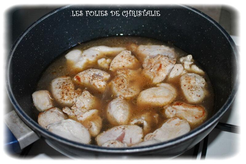 Poulet au cidre 1