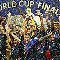 Oh je ne vous l'ai pas dit ! on est champion du monde !
