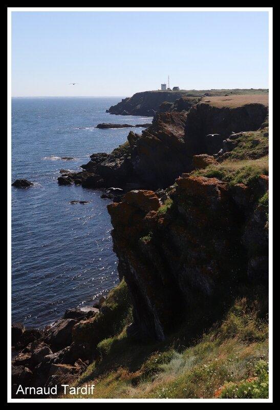 00723 Guidel - L'Ile de Groix - De la Pointe de Pen-Men au Sémaphore de Beg Melen