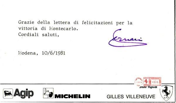 courier-Enzo Ferrari-1981-6-10