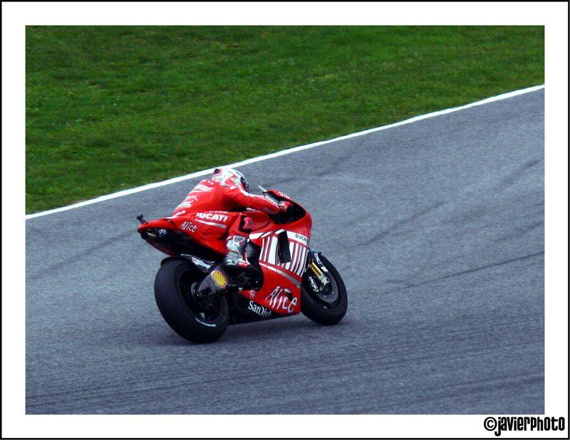 GP moto Barcelone 2008, Casey Stoner