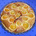 ✿✿ma tarte frangipane abricots / noix de coco✿✿