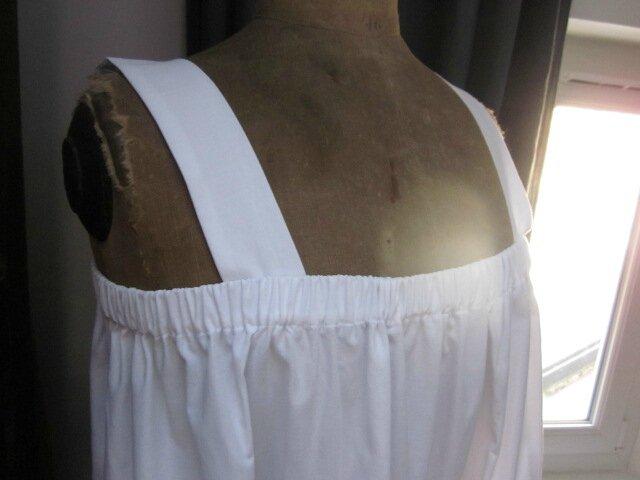 Jupon CLEMENTINE en coton blanc (6)