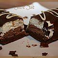 Bûchettes aux 2 chocolats