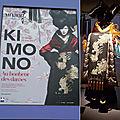 Exposition de kimonos brodés