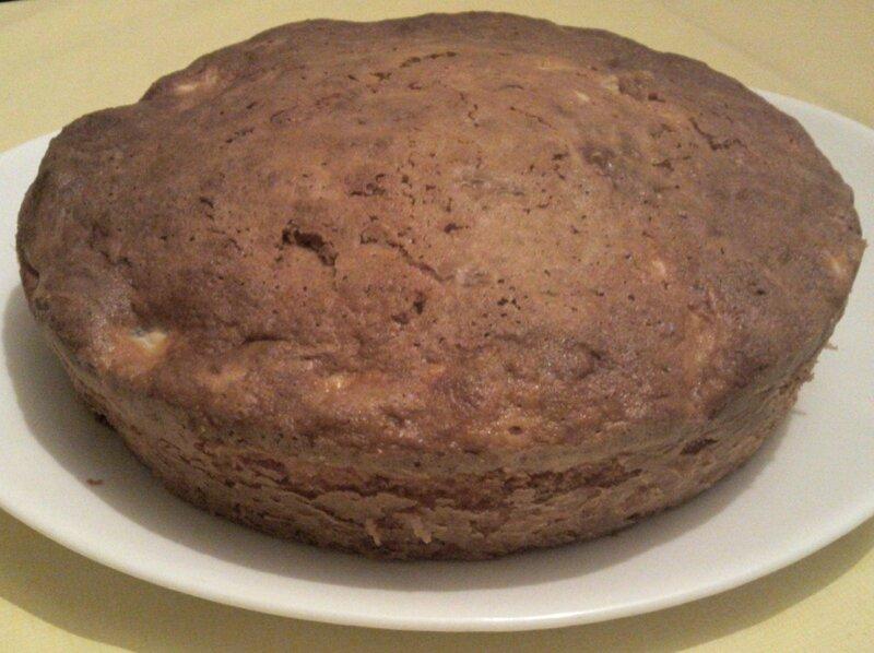 Gateau pommes-noix coco 2