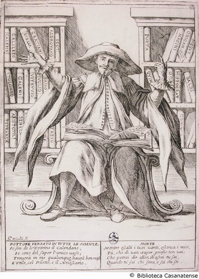 1675 : Giuseppe-Maria MITELLI : Il Dottore