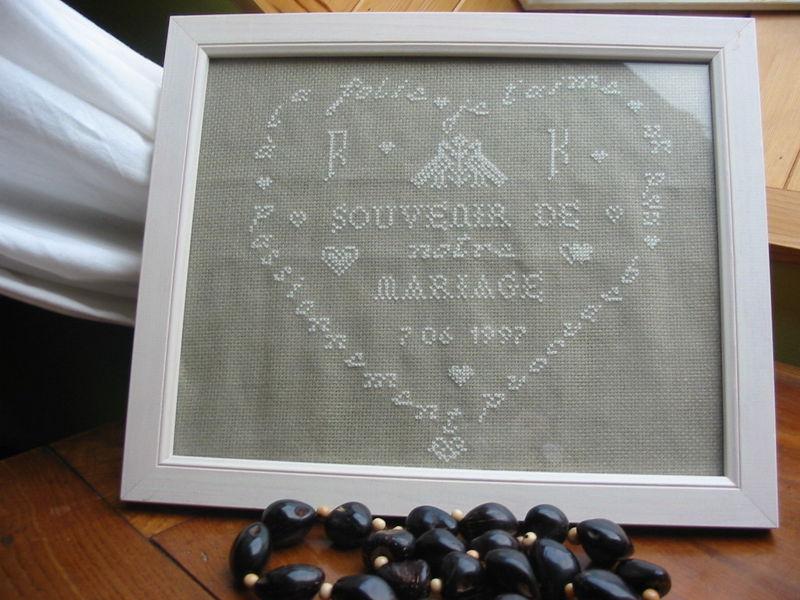 souvenir de notre mariage ! 11 déjà !