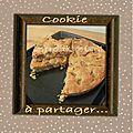 Cookie géant à partager !