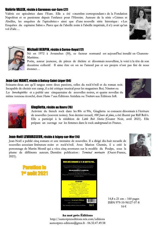 Dossier de presse le 17 page 2