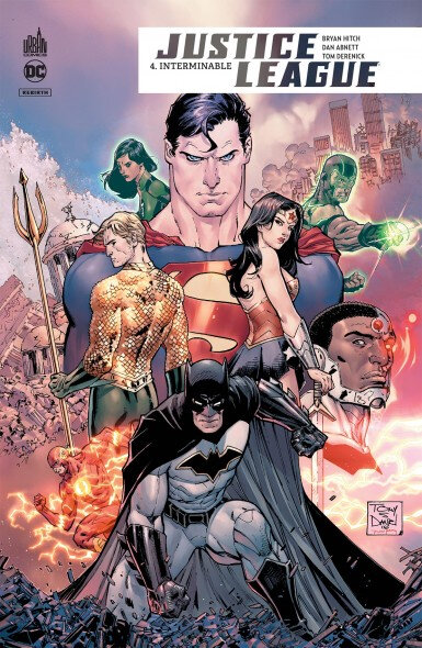 justice league rebirth 04 interminable