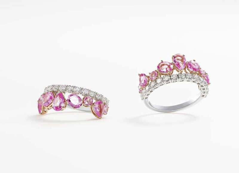 william and son_pink sapphires ring