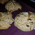 Cookies poire chocolat