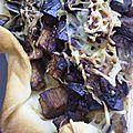 Tarte d'aubergines au vinaigre balsamique