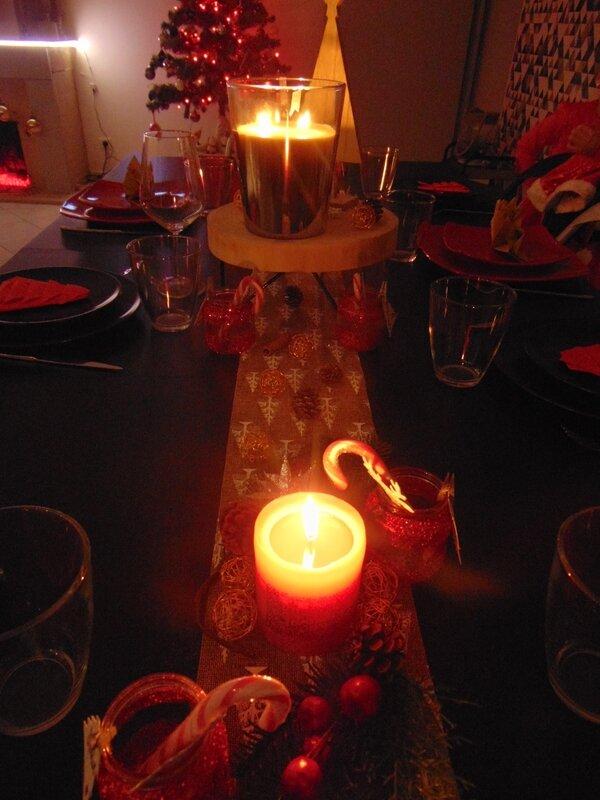 3-Bougies allumées