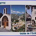 Gilette - la chapelle - vieille fontaine