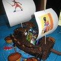 Gâteau pirate à dévorer