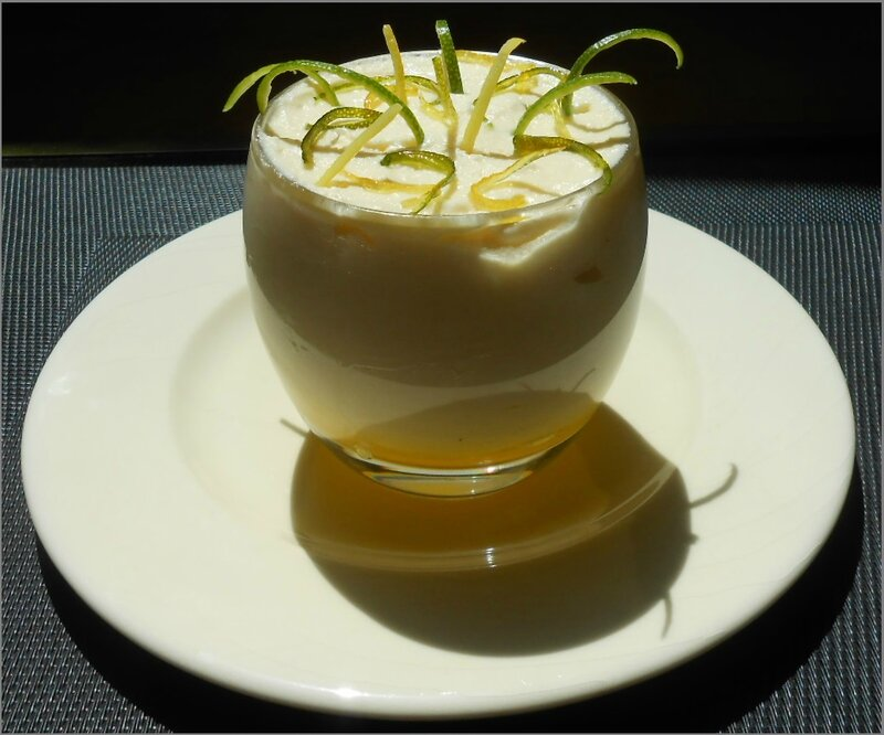 Crème de mascarpone aux 2 citrons