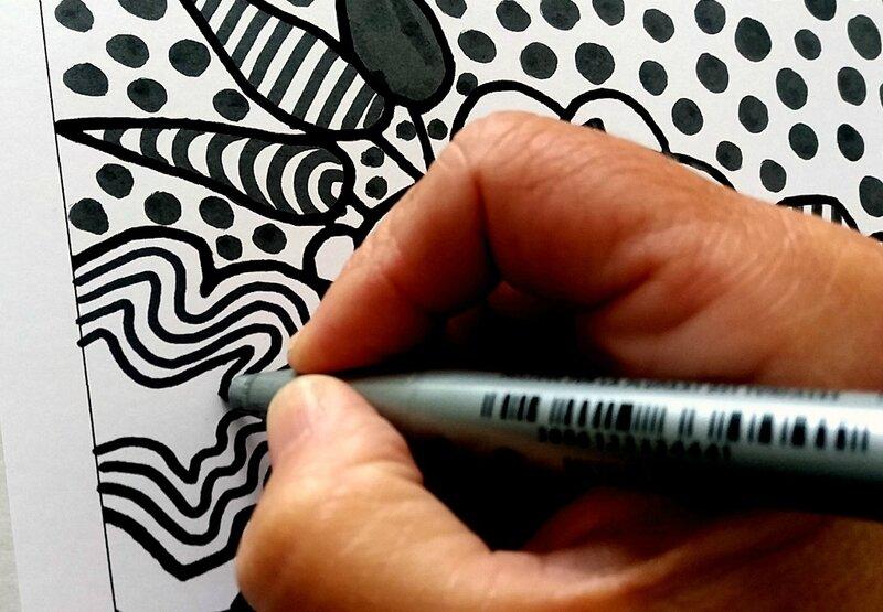 254_Noir et blanc_Du graphisme avec Matisse (10)