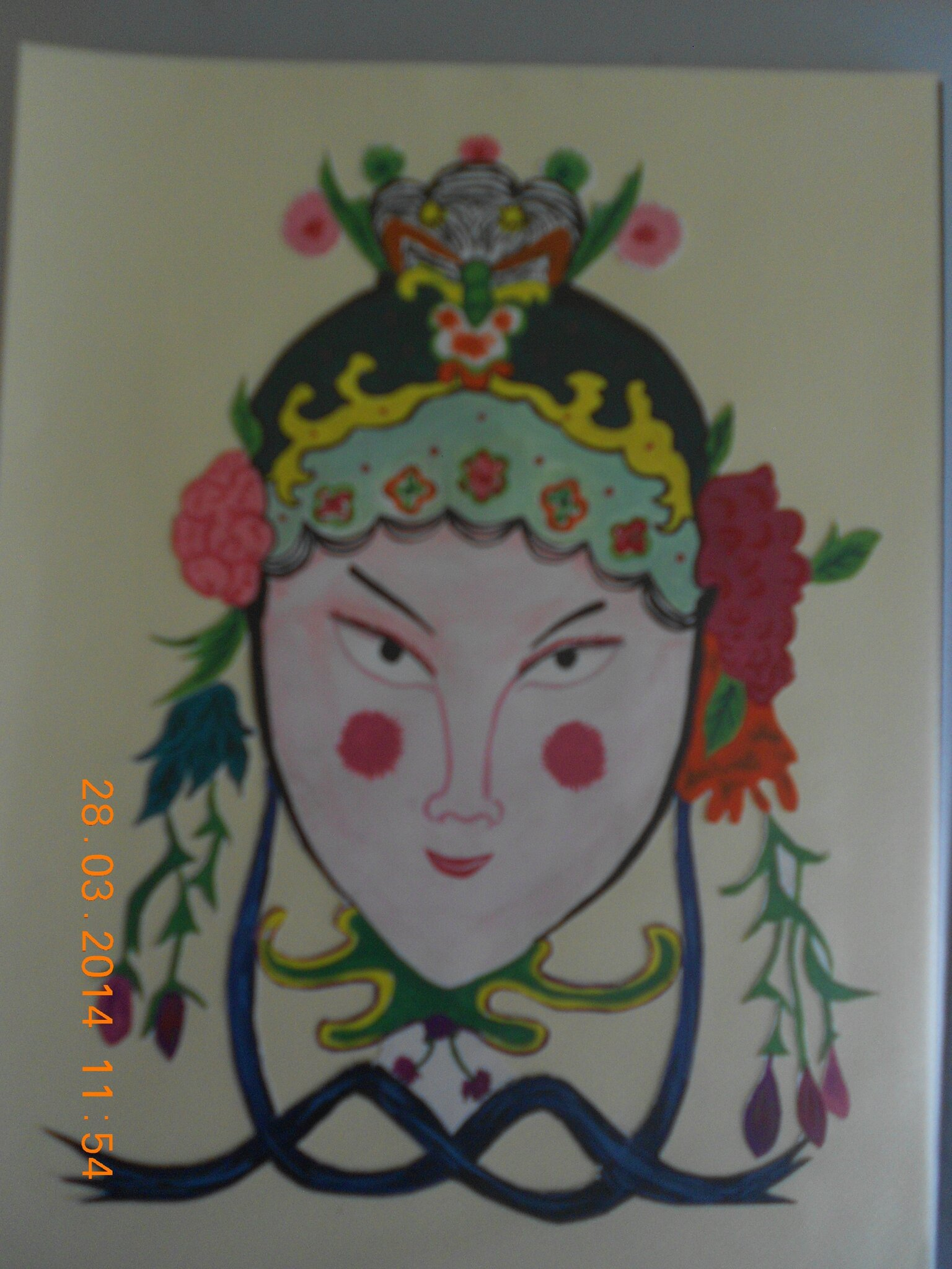 Masques chinois 017