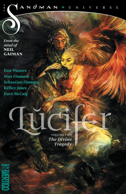 vertigo lucifer vol 02 the divine tragedy TPB