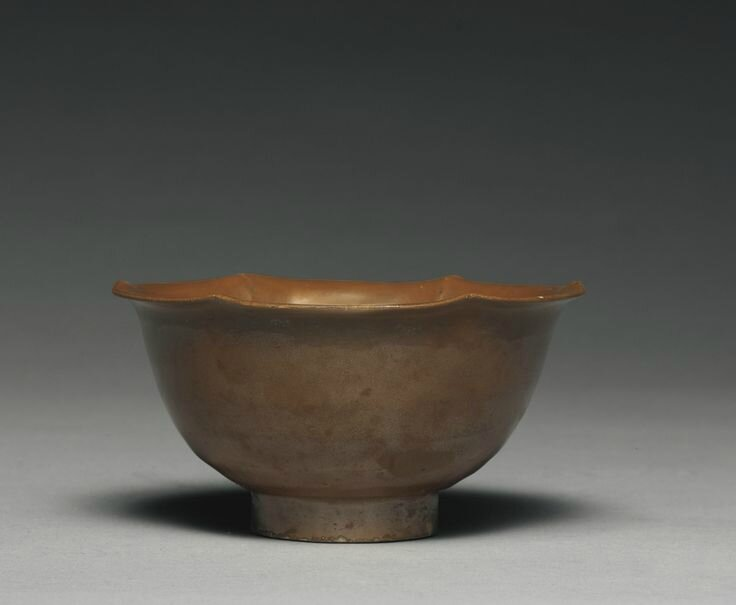 A 'Yaozhou' persimmon-glazed bowl, Northern Song dynasty