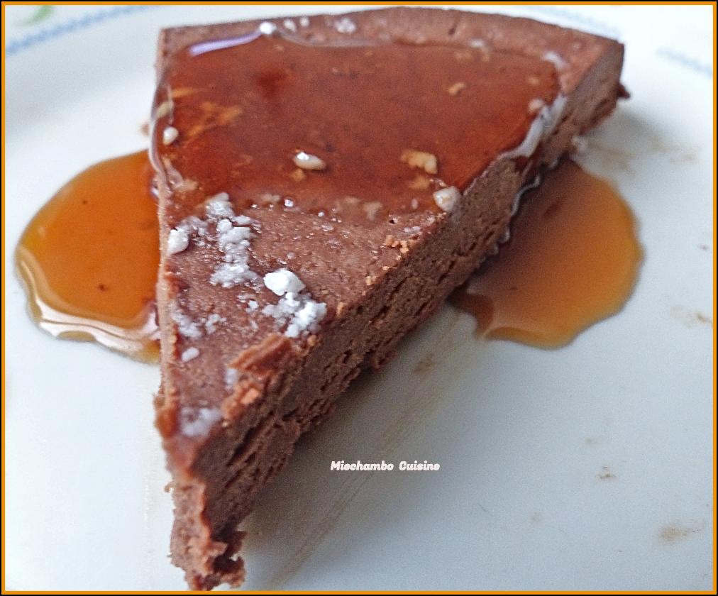 Gâteau à la châtaigne sans cuisson