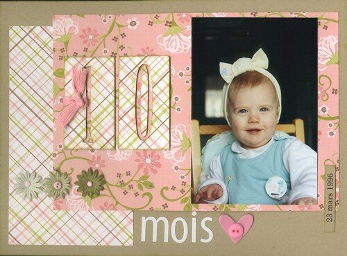 Laurianne 10 mois