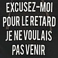 Mot d'excuse
