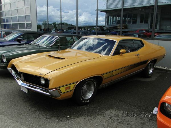 ford torino gt fastback hardtop coupe 1971 a