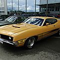 Ford torino gt fastback hardtop coupe, 1971
