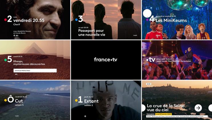 France télévisions 2018