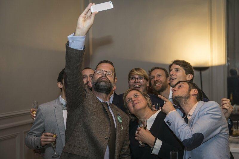 Arts et Lettres - Frédéric Fougerat - Selfie