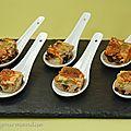Clafoutis olives-chorizo d'après éric fréchon