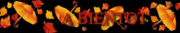 bientot automne