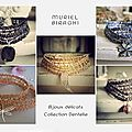 Medley de la collection dentelle by muriel biraghi