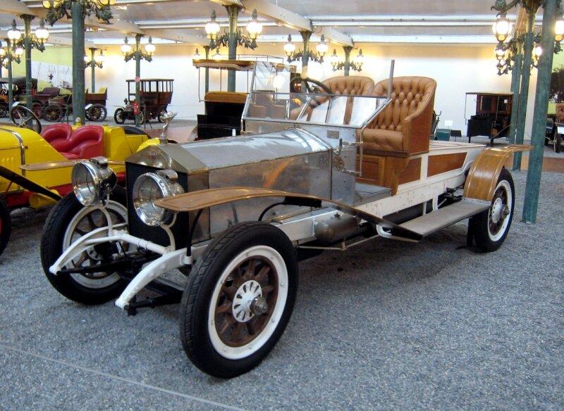 Rolls Royce silver ghost biplace de 1912 (Cité de l'Automobile Collection Schlumpf à Mulhouse) 01