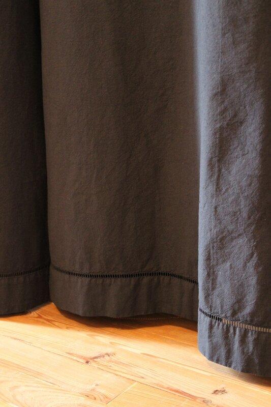 Rideaux draps teints dressing2