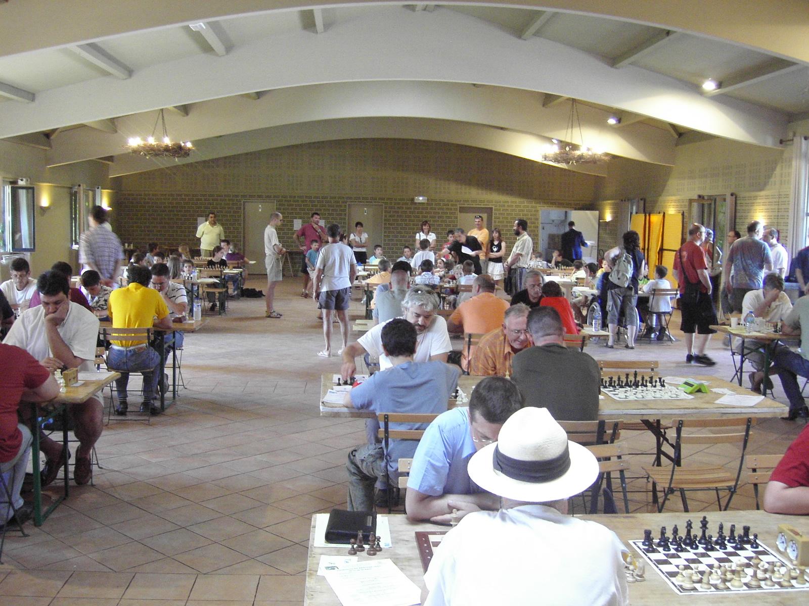 Grand Prix Arcois 2007 (80) Vue de la salle