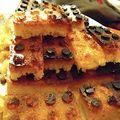 Cake en brique légo