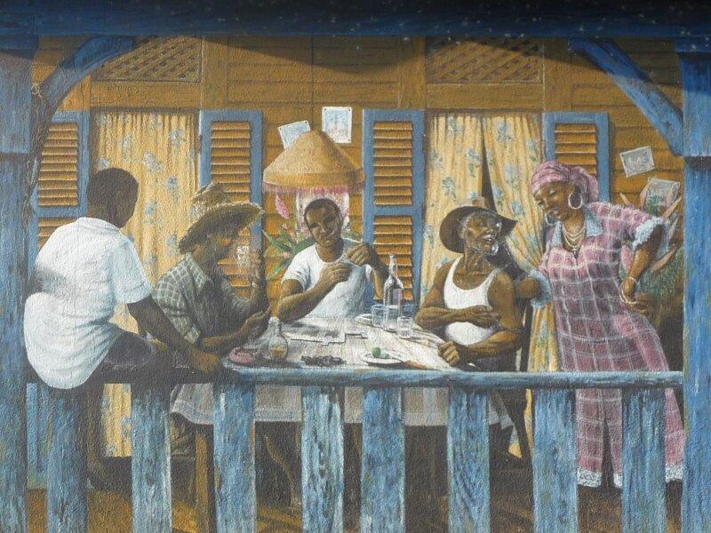 Fresque murale, Suzini