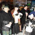 Les Goûters Patois 3 Chants lors de la descentes aux flambeaux du 31 décembre 2009