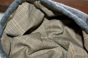 beret gris interieur