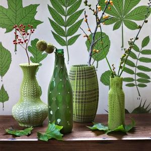 vases-collants-verts