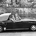 Peter ustinov's lagonda db 2.6/3.0 litre drophead coupé, 1953