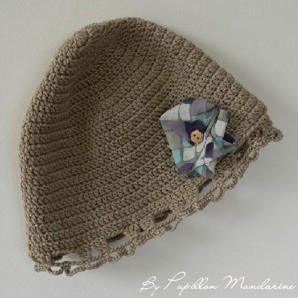 chapeau crochet Margot